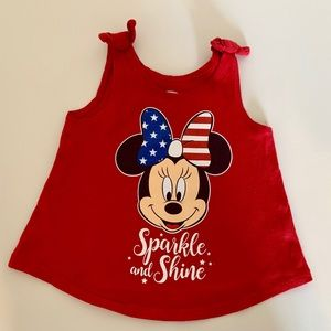 OLD NAVY 4th of July + Minnie themed tank